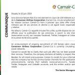 Démenti : faux recrutement de 130 hôtesses chez Camair-Co